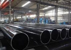 Mild carbon spiral welded steel pipe